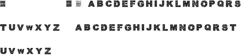 Ann's dingbatik six premium font buy and download.