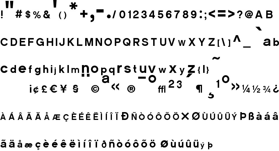 CM Sans Serif 2012 free Font in ttf format for free download