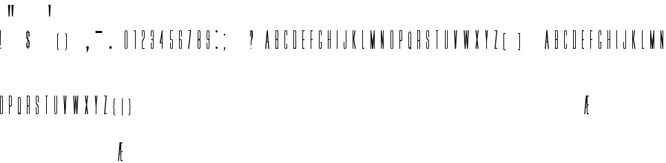 Download HFF Jammed Pack free Font in ttf format for free download ...