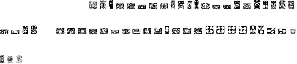 Jugendstil Ornamente Free Font In Ttf Format For Free Download 11829kb