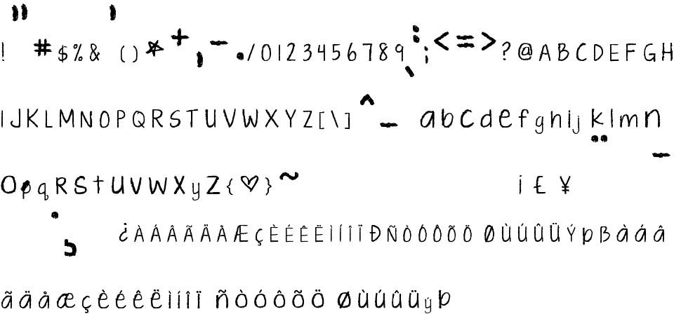 kg ten thousand reasons free font