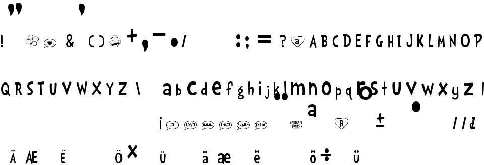 LOL! free Font in ttf format for free download 128 61KB