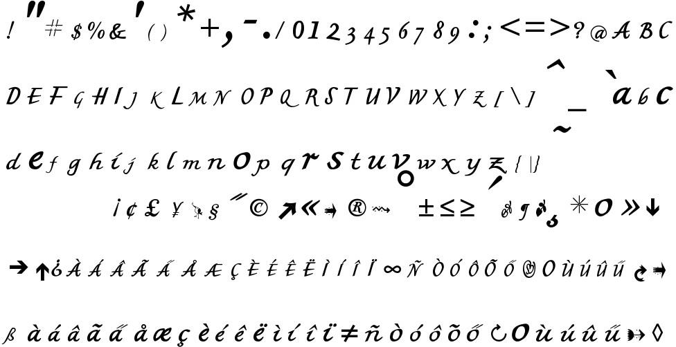 MK British Writing Free Font In Ttf Format Size 2542KB
