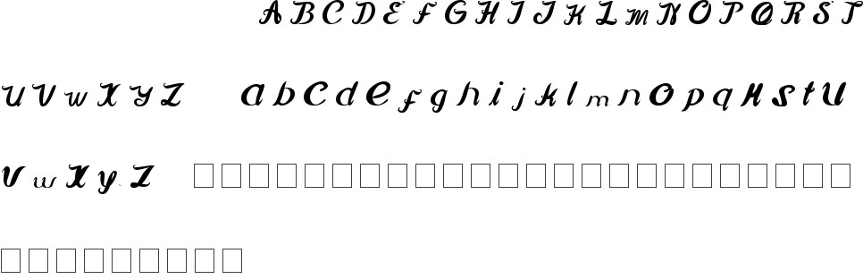 movie script ending free font in ttf format for free download 20 07kb