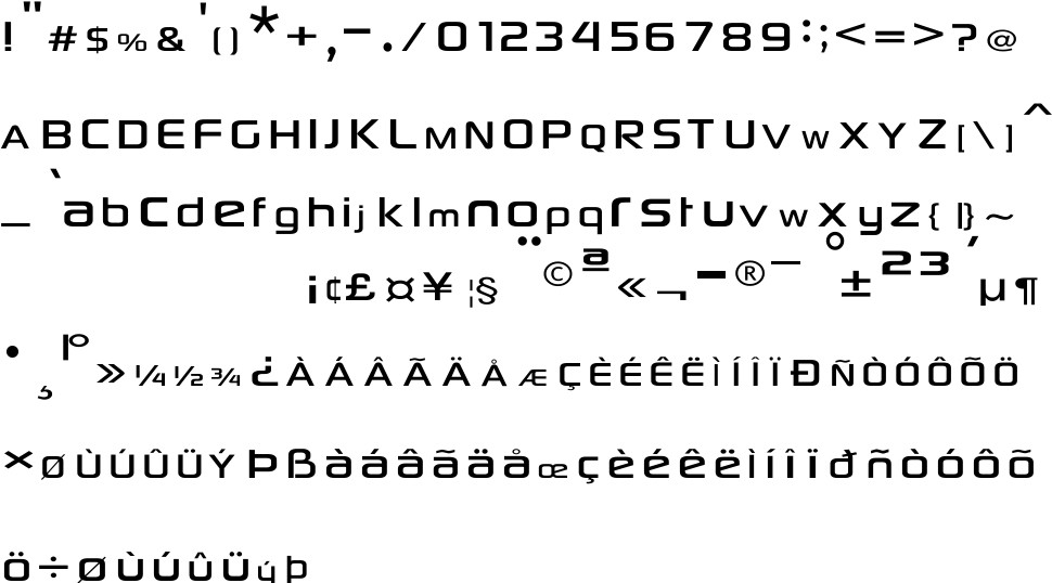 Sony Sketch EF free Font in ttf format for free download 104 37KB