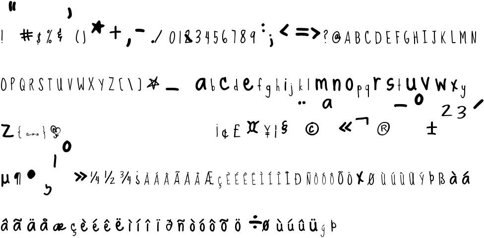 Sue Ellen Francisco Free Font In Ttf Format Size 3498KB