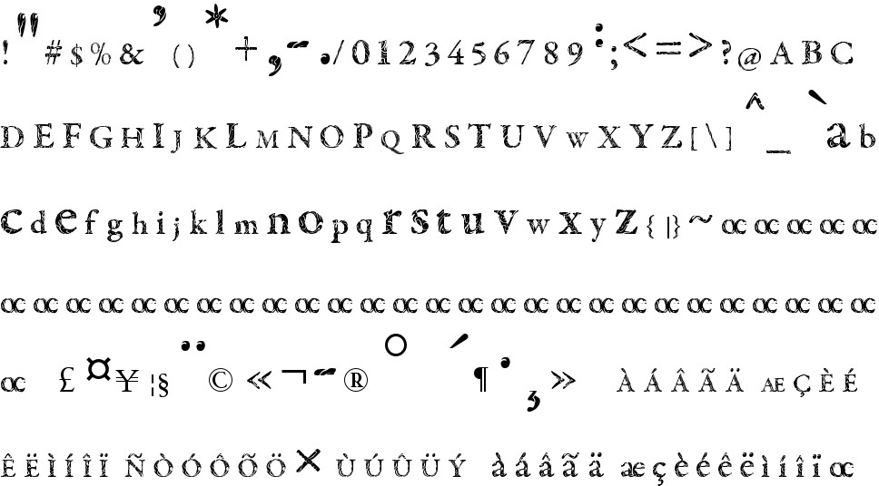 Tribal Garamond free Font in ttf format for free download 561 26KB