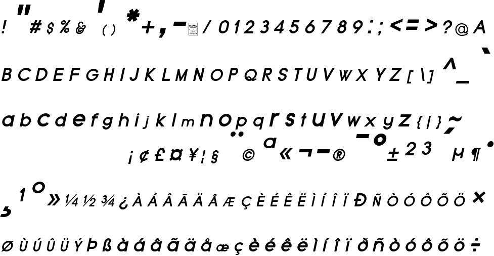 Typo Grotesk free Font in ttf format for free download 192 80KB