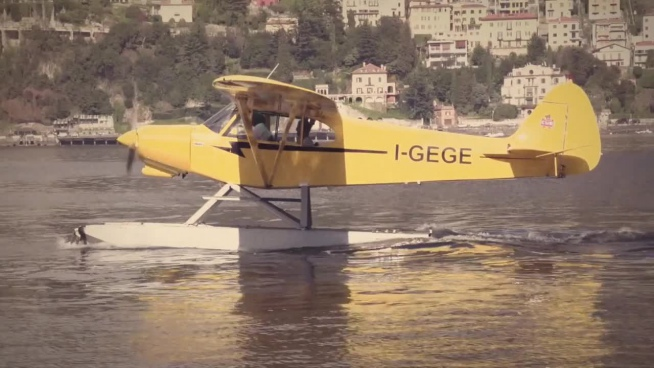 modern seaplane experiment trip