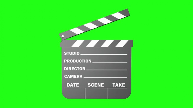 film flap sign icon motion
