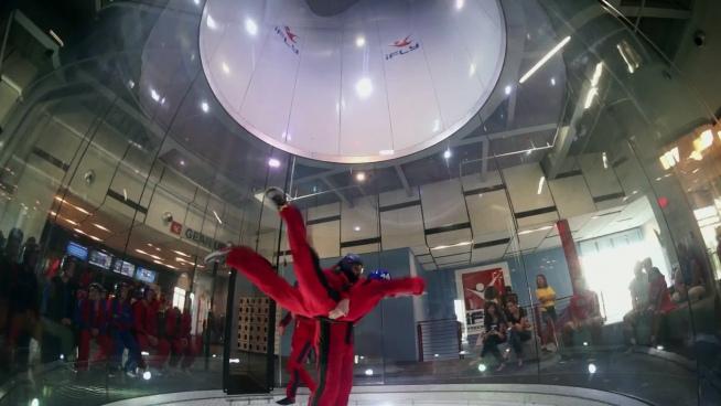 skydiving practice before flight