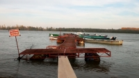 Pontoon for docking boats