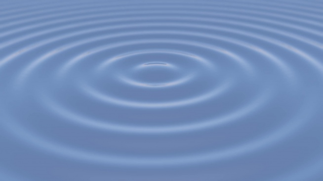 water surface movement screensaver