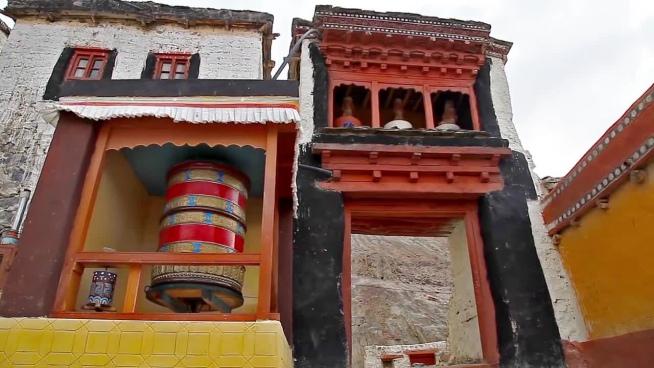 full view of tibet religion monastery