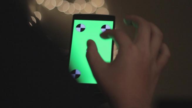 smartphone touchscreen practice