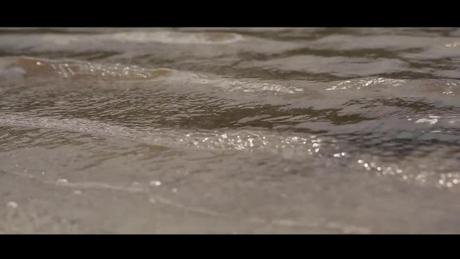 ripple wave on seaside