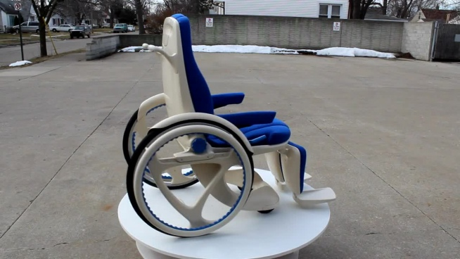 new wheelchair model display