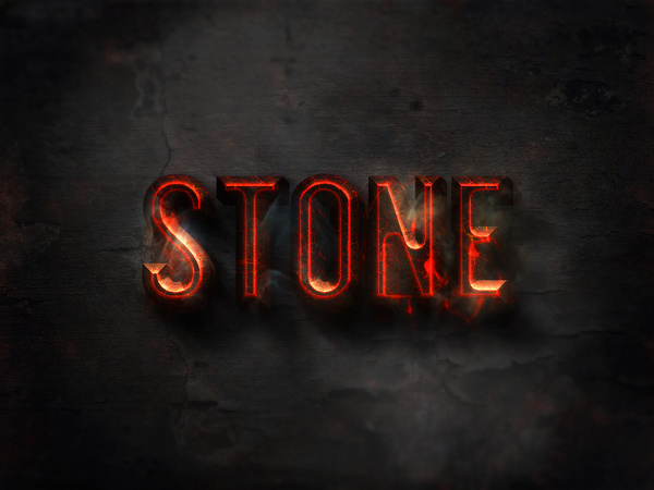 04 3d burning text effects preview Free psd in Photoshop psd (  psd