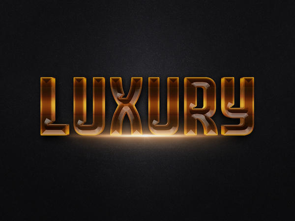 103d gold text effect 2 preview