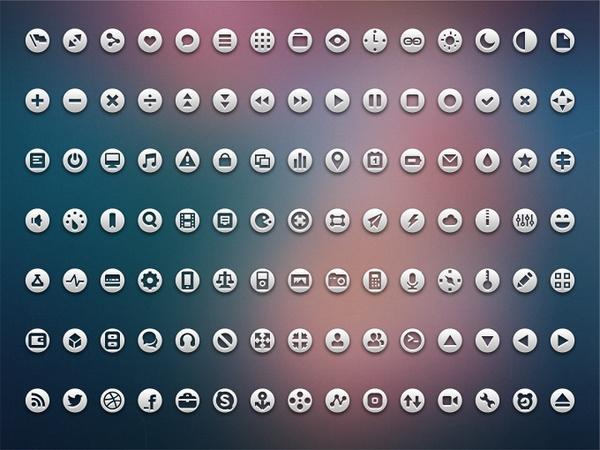 105 Loops Icon Set