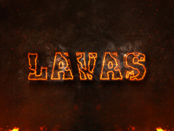 10 3d burning text effects preview