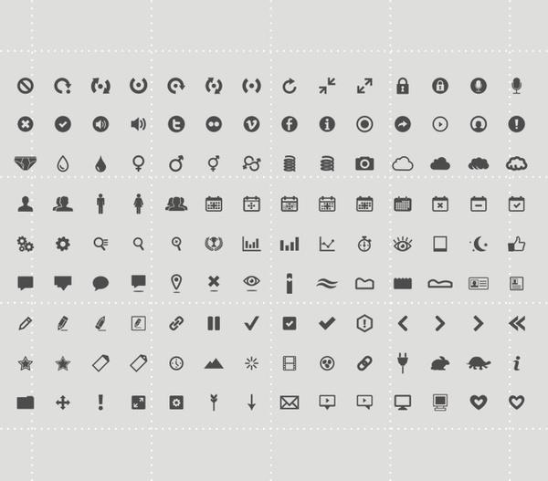 126 Icon Set