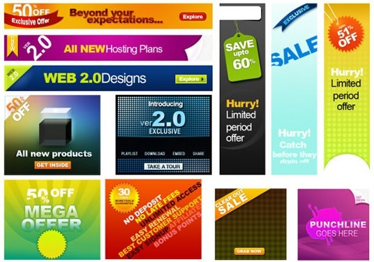 12 foreign banner psd layered