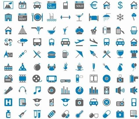 200 Free Web Icons