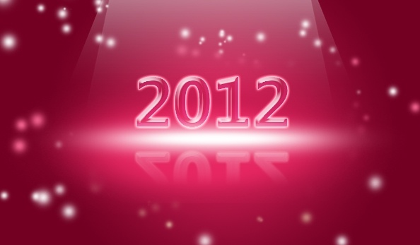 2012 creative fonts backgroundpsd layered