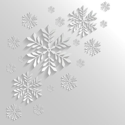 2014 merry christmas snowflake background graphics