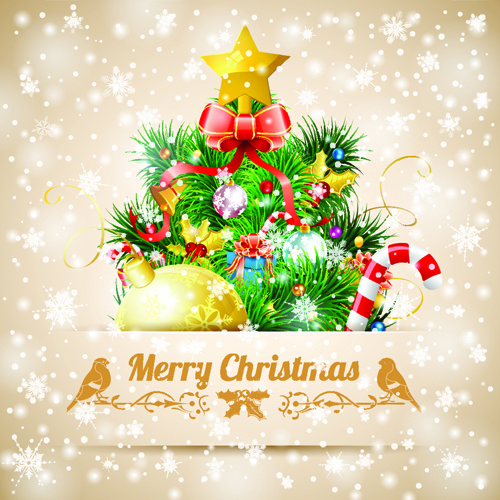 Merry christmas card template free vector download (28,559 ... Merry Christmas And Happy New Year 2017 Clip Art