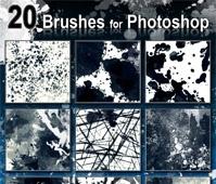 20 Photoshop Brushes