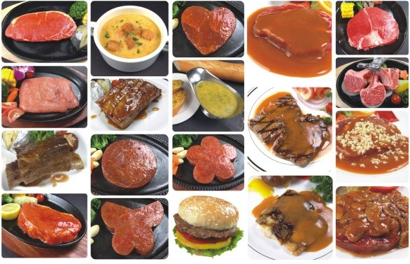 20 western dishes collection of highdefinition picture
