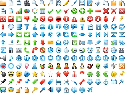 24x24 Free Application Icons icons pack