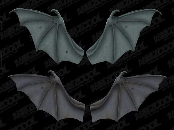 2 bat wings psd layered