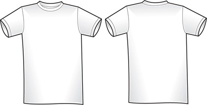 2 free blank shirt templates free vector in encapsulated postscript