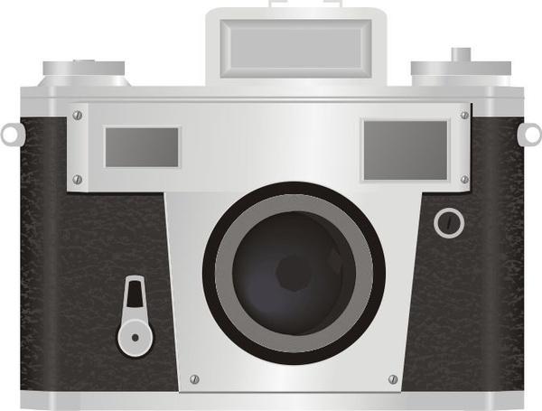 Camera Vintage Vector Free : 35mm classic camera vector free vector in acrobat reader pdf .pdf