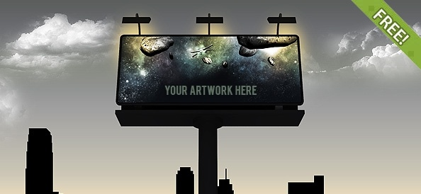 Billboard Design Template Free from images.all-free-download.com