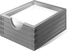 3 Gray Paper Box