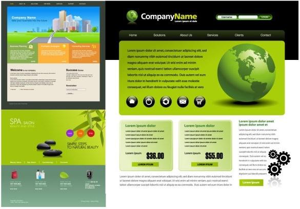 3 web design vector