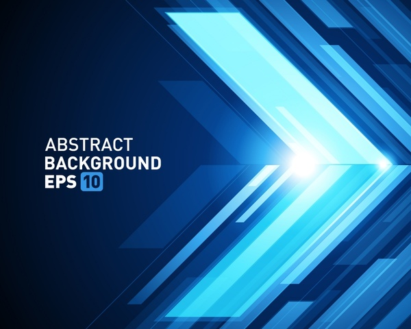 3d Blue Abstract Mesh Background Circles Stock Vektor: 3d Abstract Glow Background Vector Free Vector In