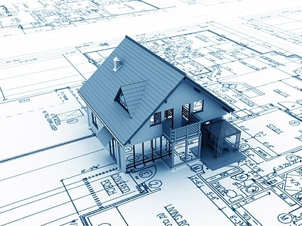 3d buildings and plan 1