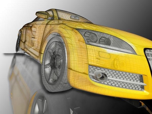 3d car renderings 04 hd picture