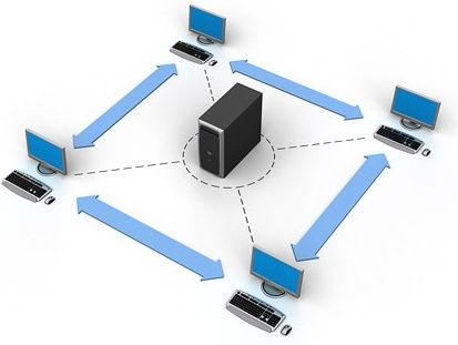 3d computer network connection picture 10