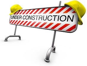 3d construction barricades picture