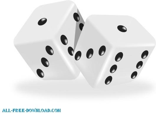 3d dice free vector in adobe illustrator ai ai vector