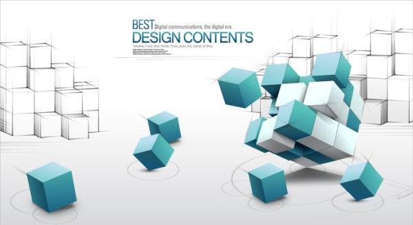 3d fashion design business concept background vector 2 text