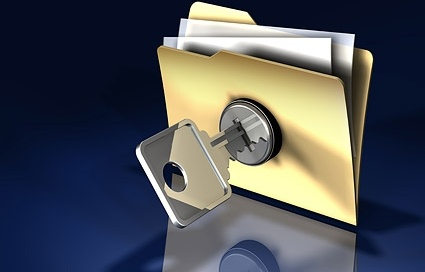3d folder lock picture