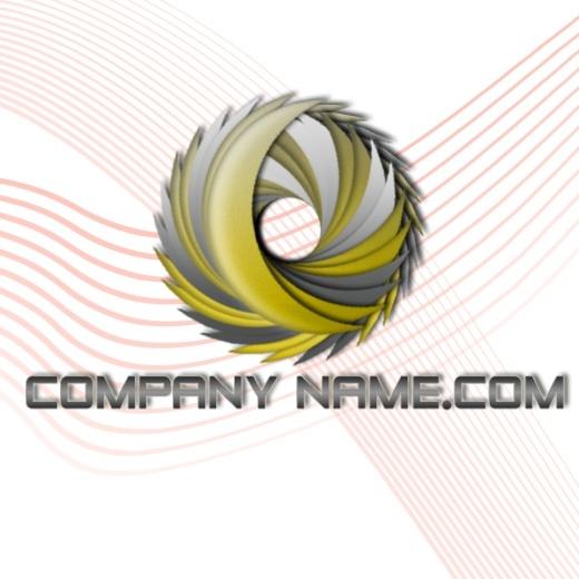 3D Grunge -Free PSD Logo