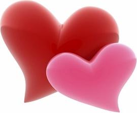 3d heartshaped picture